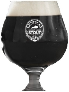 Kentucky Bourbon Barrel Stout Glass