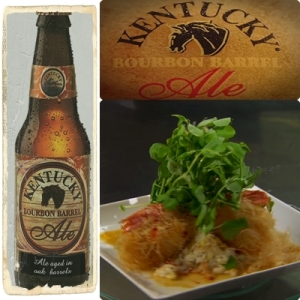 Award winning dish using award winning beer