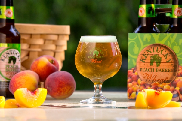 Peach Barrel Ale by Alltech Brewing and Distilling, new for summer 2014