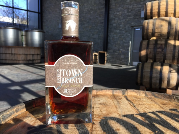 Town Branch Single Barrel debuted in early 2015 and is available only at the Town Branch Distillery Visitor Center.